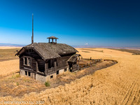 Abandoned Schoolhouse near The Dalles