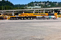 Big Truck Crane to set the Trestle Stringers on Westside