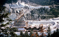 Libby Dam Construction about 1967